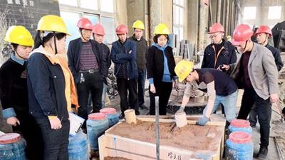 大型铸钢件厂家腾飞铸钢全面提升安全质量卫生标准化工作