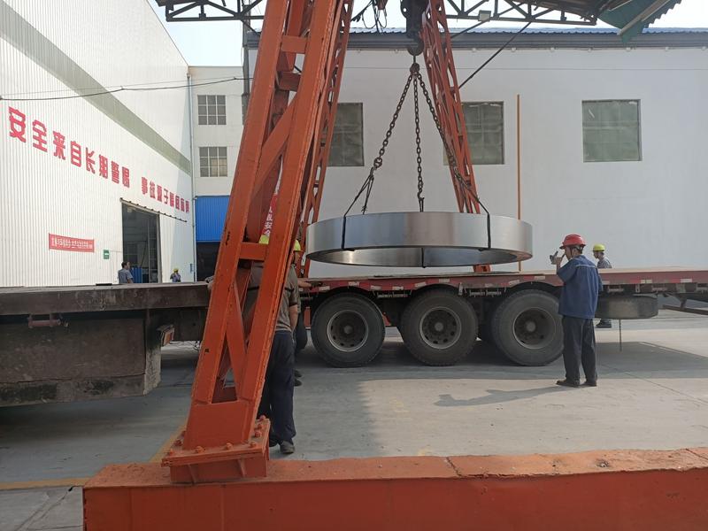大型铸钢件铸造厂生产轮带