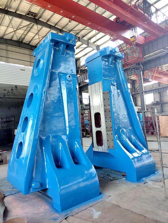 大型铸钢件厂家腾飞铸钢出口机身将发往俄罗斯