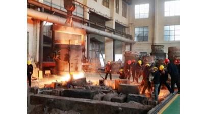 上千度的钢水,铸钢件厂家如何把控浇铸温度