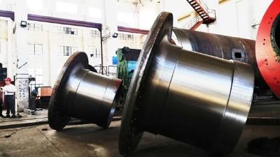 大型铸钢件厂家如何生产符合客户需求的中空轴?