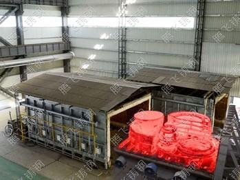 不需进行热处理,大型铸钢件铸造厂告诉你不行