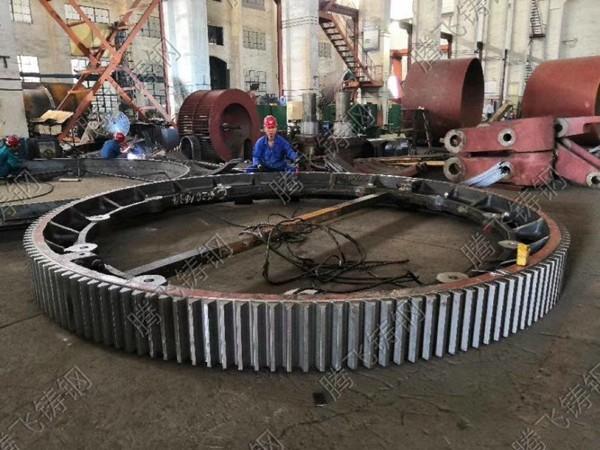 河南大型铸钢件企业大齿轮