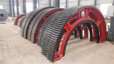 大型铸钢件厂家生产大齿轮工艺