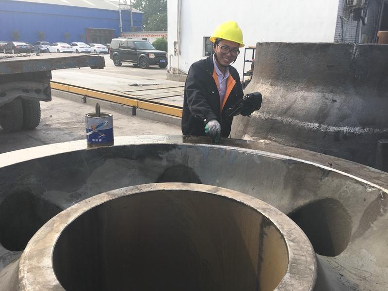 大型铸钢件检测